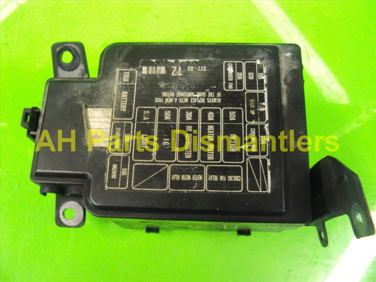 1990 1993 Integra Fuse Box Schematics Wiring Diagrams Acura Get Free Image About 1996 Ford Mustang Diagram