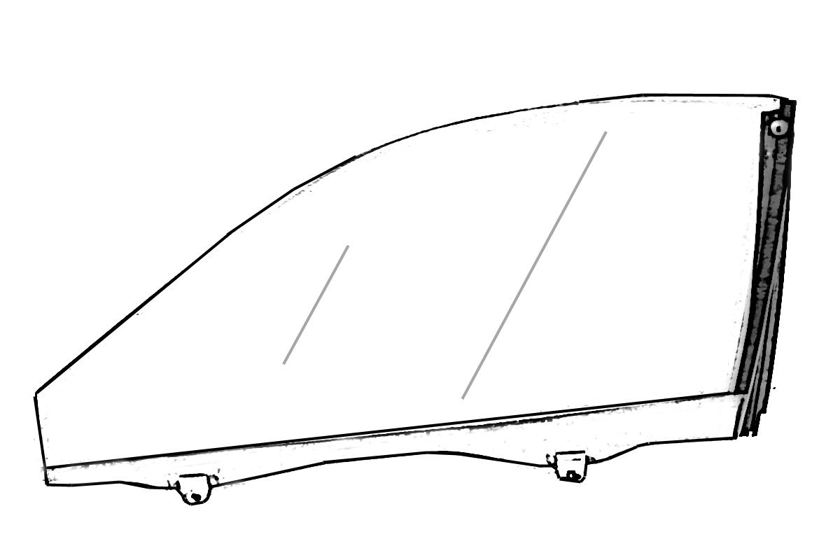 Buy 54 2005 jaguar s type window rear passenger door for 2001 jaguar s type rear window regulator
