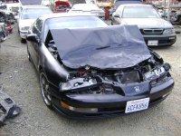 1993 Honda Prelude Deck Trunk TRUK LID BLACK W SPOILER HOLLES Replacement