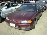 1992 Honda Civic 4DR Rear passenger MANUAL DOOR LATCH Replacement