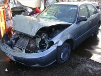 2000 Honda Civic 4DR Rear passenger ACTUATOR MANUAL Replacement