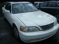 1998 Acura RL Window Rear driver DOOR GLASS Replacement