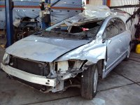2006 Honda Civic Cut Passenger CENTER B PILLAR Replacement