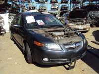 2007 Acura TL Cover L H SEAT BACK PANEL LIGHT GRAY Replacement