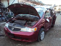 2004 Honda Odyssey Control Front driver LOWER ARM Replacement