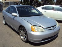 2002 Honda Civic Rear / Windshield Back Glass Replacement