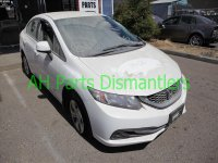 2013 Honda Civic Passenger QUARTER PANEL white Replacement