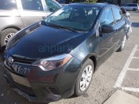 2015 Toyota Corolla Back 2nd row REAR SEATS ASSEMBLY LIGHT GRAY Replacement