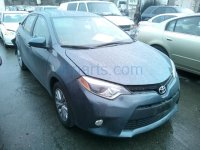2014 Toyota Corolla Rear 2ND ROW MID SEAT BELT gray Replacement