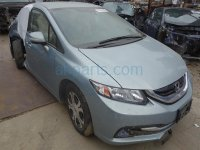 2013 Honda Civic Back 2nd row HYBRID REAR TAN LEATHER SEATS Replacement