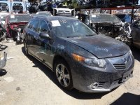 2011 Acura TSX Front driver SEAT BLACK BLOWN AIRBAG Replacement