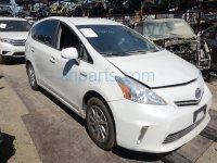 2014 Toyota Prius V Rear back 2nd row 2ND ROW Driver SEAT gray cloth Replacement