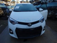 2016 Toyota Corolla 2nd row REAR UPPER SEAT BACK PORTION CHECK Replacement