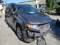 2014 Honda Odyssey Rear back 2nd row 2ND ROW Driver SEAT TRUFFLE LEATHER Replacement