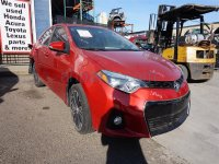 2015 Toyota Corolla Rear passenger BRAKE CALIPER Replacement