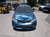 2008 Honda Civic Rear driver DOOR NO TRIM PANEL BLUE DINGS Replacement