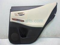 2010 Lexus Hs250h Panel Rear passenger DOOR TRIM LINER BLACK IVORY 6763075010C2 Replacement