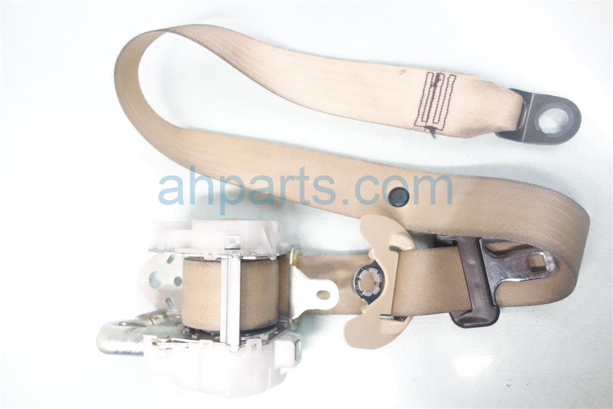 2010 Lexus Hs250h Front driver SEAT BELT IVORY 7322075030A1 Replacement
