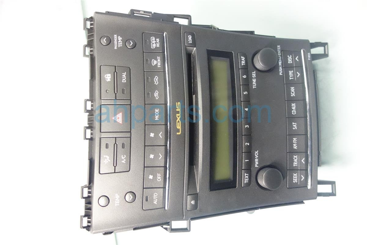 2010 Lexus Hs250h AM FM 6 DISC CD RADIO 8612075060 Replacement