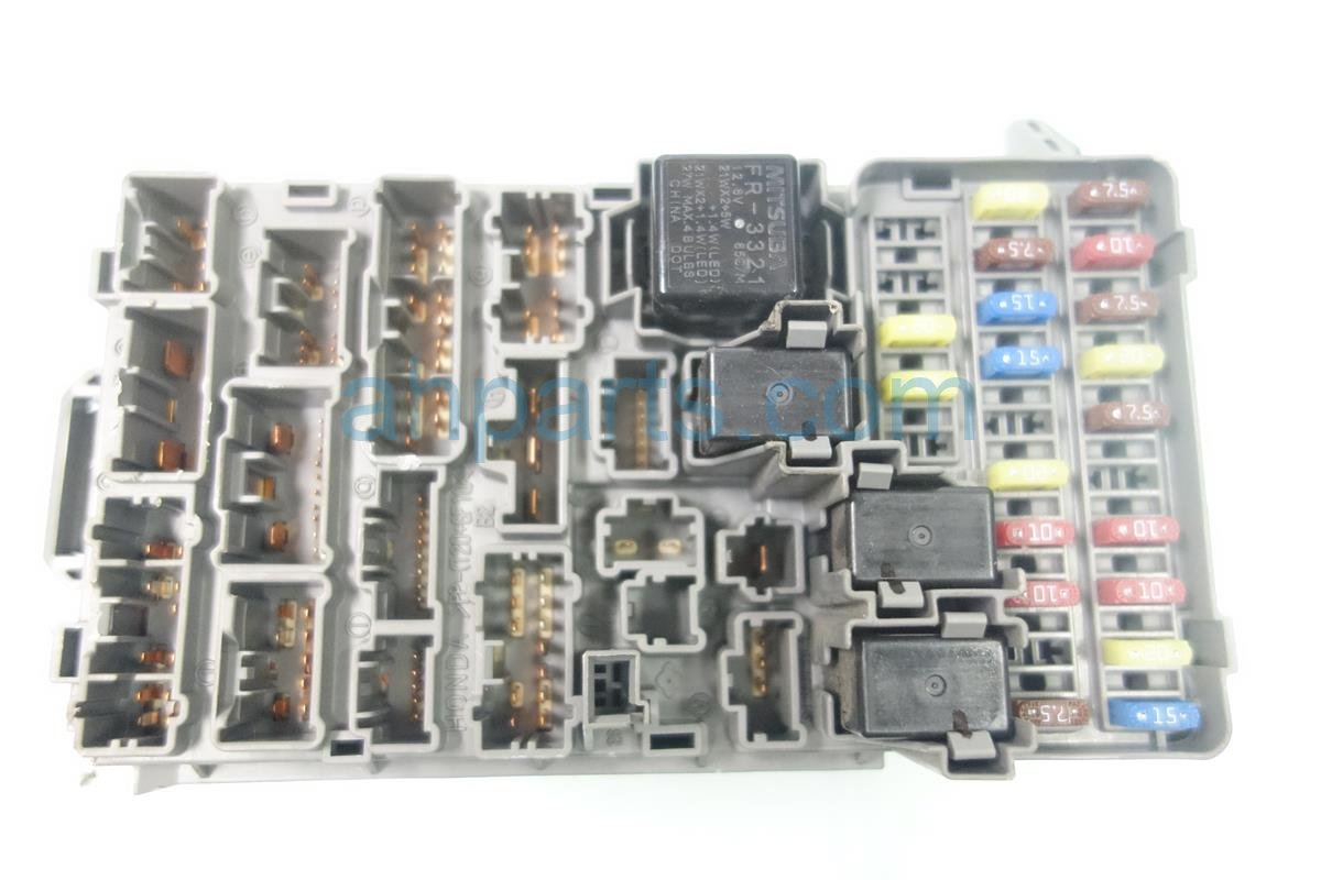 2006 Acura Rsx Fuse Box Trusted Wiring Diagrams Location Engine