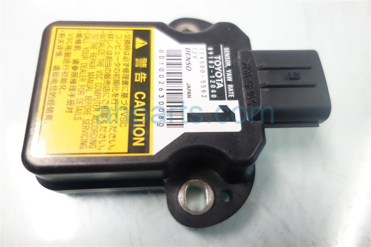 2009 Lexus Is 250 YAW RATE SENSOR 89183 12040 Replacement