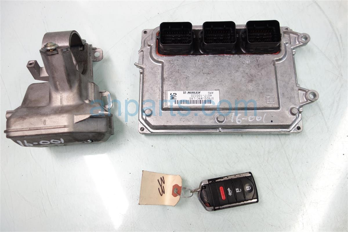 2013 Acura ILX ECU Control module Engine CoMPUTER STEERING LOCK Replacement
