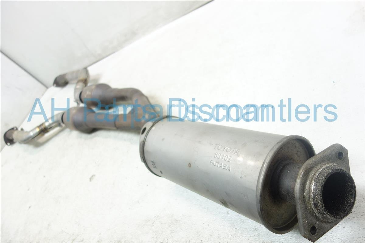 2009 Lexus Is 250 EXHAUST PIPE B MID PIPE 17410 31G60 Replacement