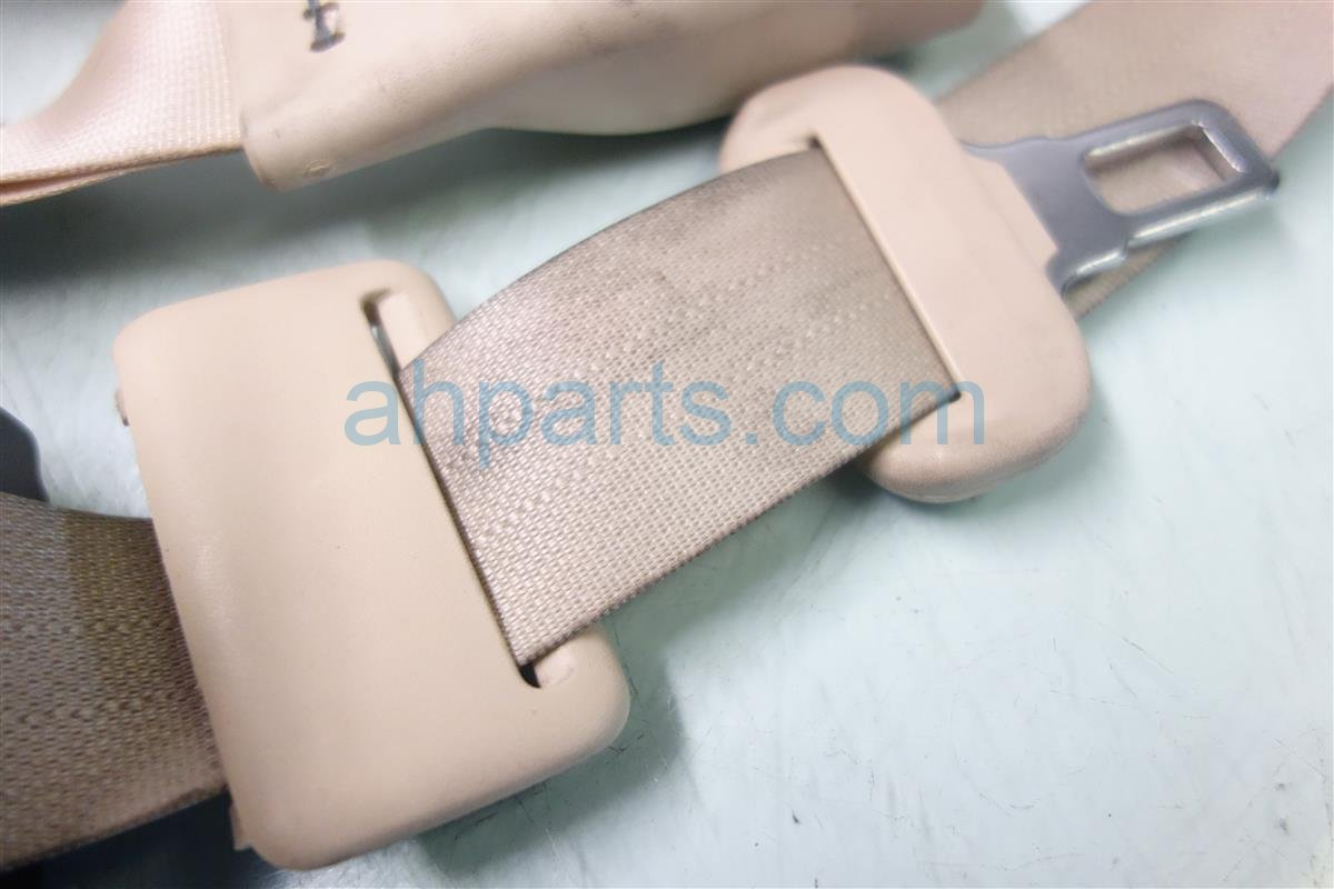 2010 Lexus Hs250h REAR MIDDLE CENTER SEAT BELT TAN Replacement