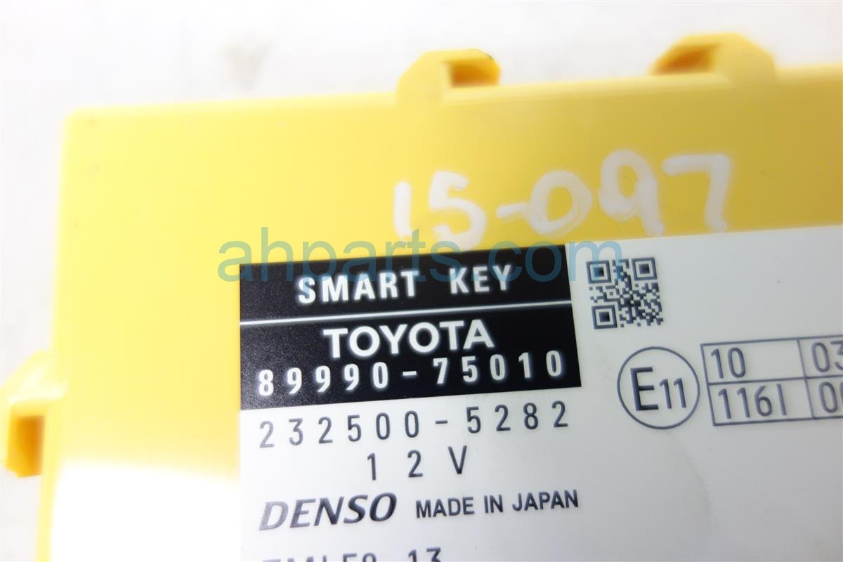 2010 Lexus Hs250h SMART KEY MODULE UNIT 89990 75010 Replacement