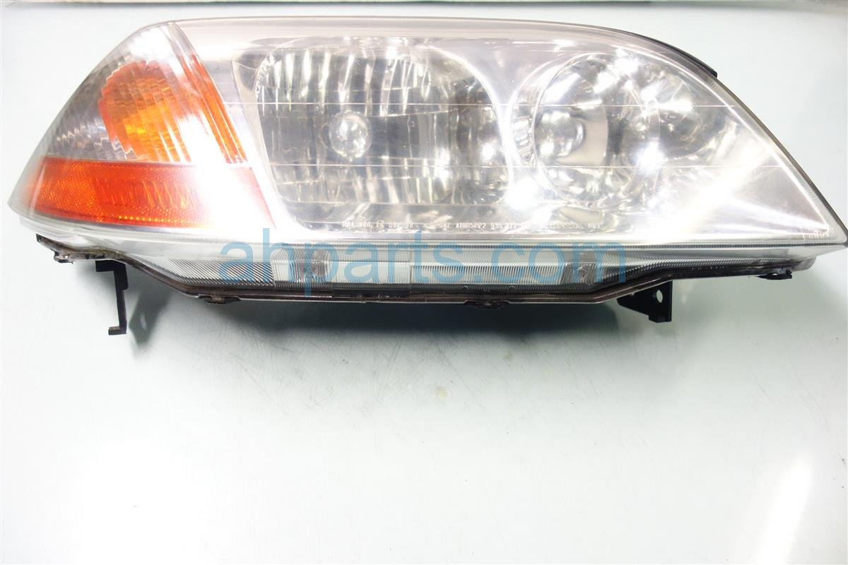 2003 Acura MDX Headlight Passenger HEAD LIGHT LAMP FOGGY 33101 S3V A01 33101S3VA01 Replacement