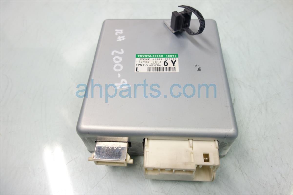 2010 Lexus Rx350 POWER STEERING COMPUTER 89650 48090 Replacement
