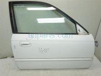 $100 Honda RH DOOR,SHELL ONLY, white, 3 dings