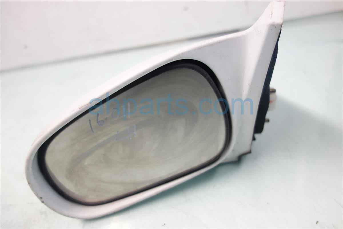 1997 Honda Civic Driver SIDE REAR VIEW MIRROR WHITE 76250 S02 A25ZC 76250S02A25ZC Replacement