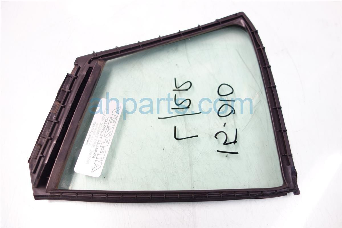 2011 Honda Insight Door window Rear driver VENT GLASS NON TINTED 73455 TM8 C00 73455TM8C00 Replacement
