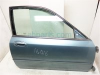 1999 Acura CL Front FR RIGHT DOOR SHELL ONLY teal 67010 SY8 A00ZZ 67010SY8A00ZZ Replacement