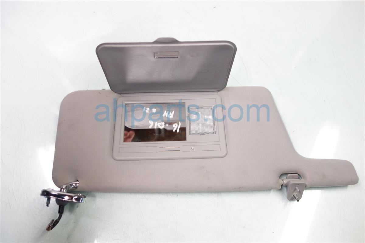 1999 Acura CL Passenger SUN VISOR gray 83230 SY8 A63ZA 83230SY8A63ZA Replacement