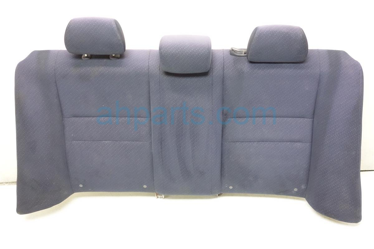 2008 Honda Civic Back 2nd row Rear SEAT UPPER PORTION BLUE CLOTH Replacement
