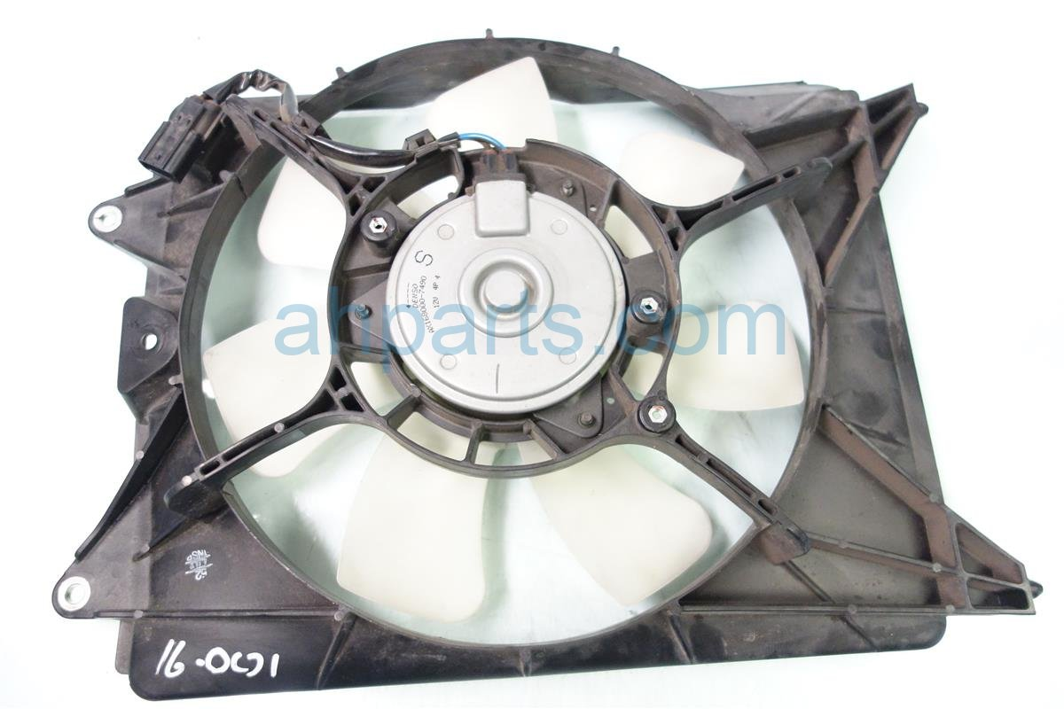 2013 Acura ILX Passenger AC COOLING FAN SHROUD IS CRACKED 38611 R1A A01 38611R1AA01 Replacement