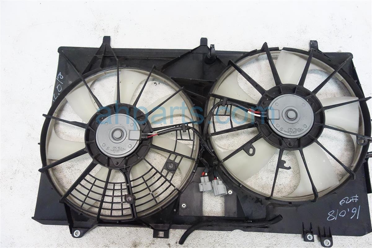 2011 Toyota Sienna Cooling Radiator Fan Assembly Replacement