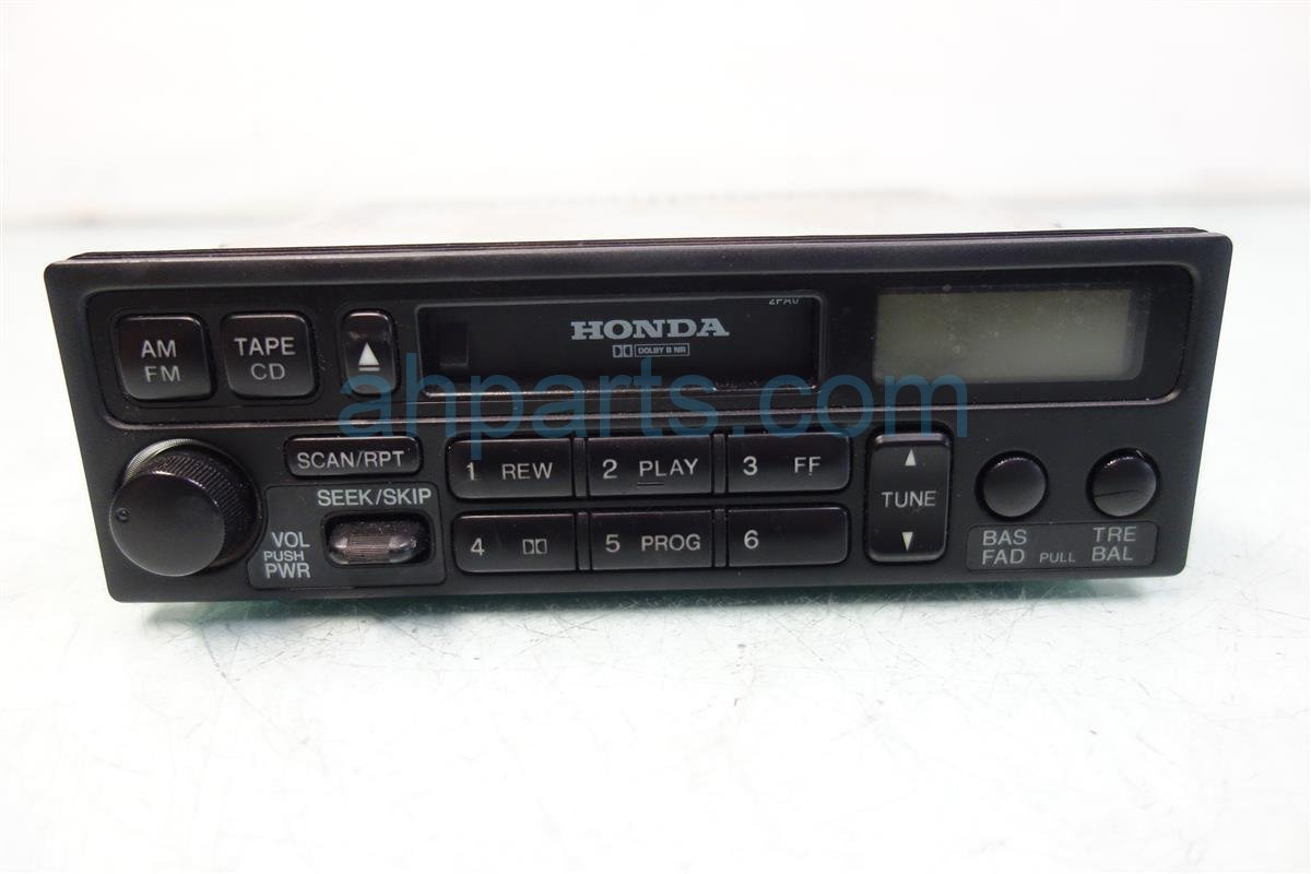 1998 Honda Accord AM FM CD RADIO tested good 39100 S84 A01 39100S84A01 Replacement