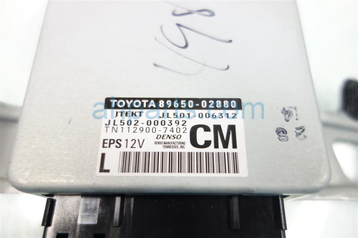 2015 Toyota Corolla Power Computer 89650 02880 Replacement