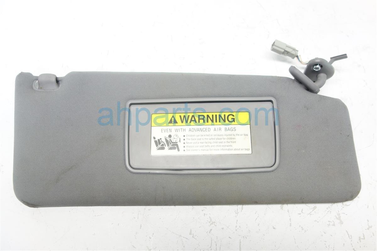 2007 Acura MDX Passenger SUN VISOR GRAY 83230 STX A01ZB 83230STXA01ZB Replacement