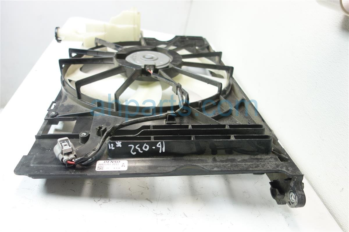 2014 Toyota Corolla Cooling RADIATOR FAN ASSEMBLY 16711 0T131 167110T131 Replacement