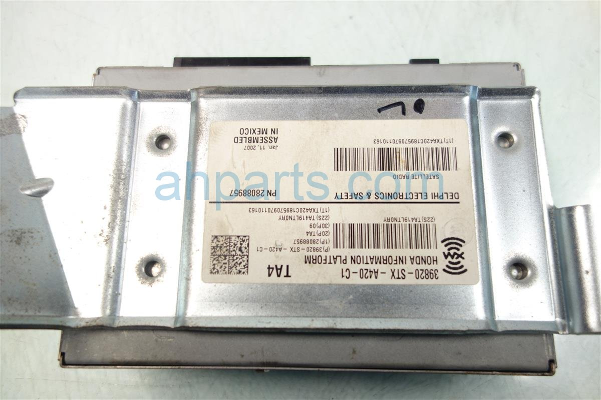 2007 Acura MDX XM UNIT 39820 STX A42 39820STXA42 Replacement