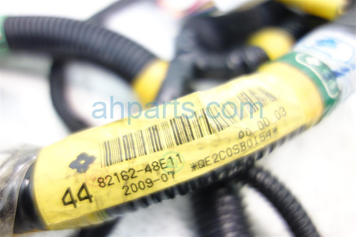 2010 Lexus Rx350 FLOOR WIRE HARNESS NO 2 82162 48E11 82162 48E11 8216248E11 8216248E118216248E11 Replacement
