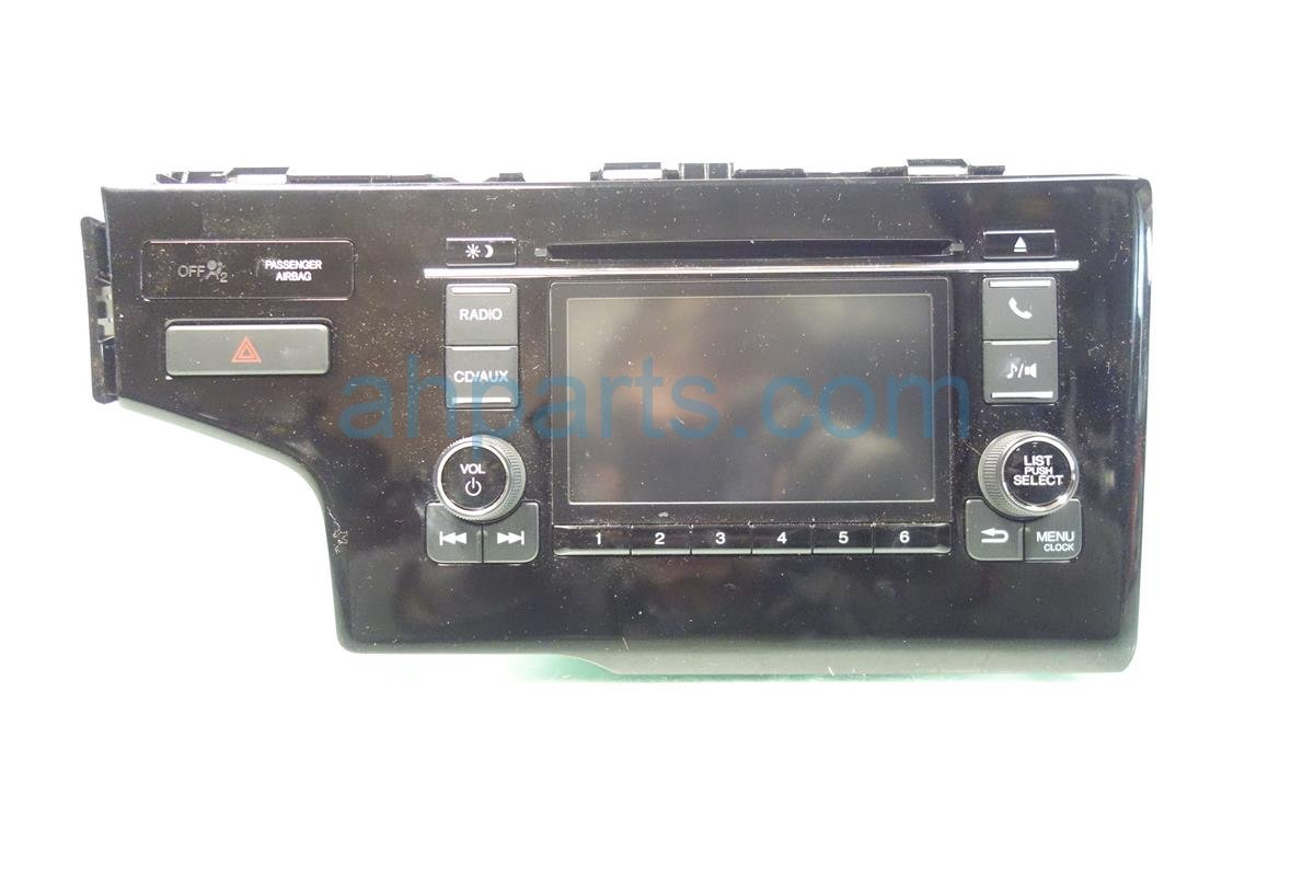 2015 Honda FIT AM FM 6 DISC CD RADIO 39171 T5R A71 39171T5RA71 Replacement