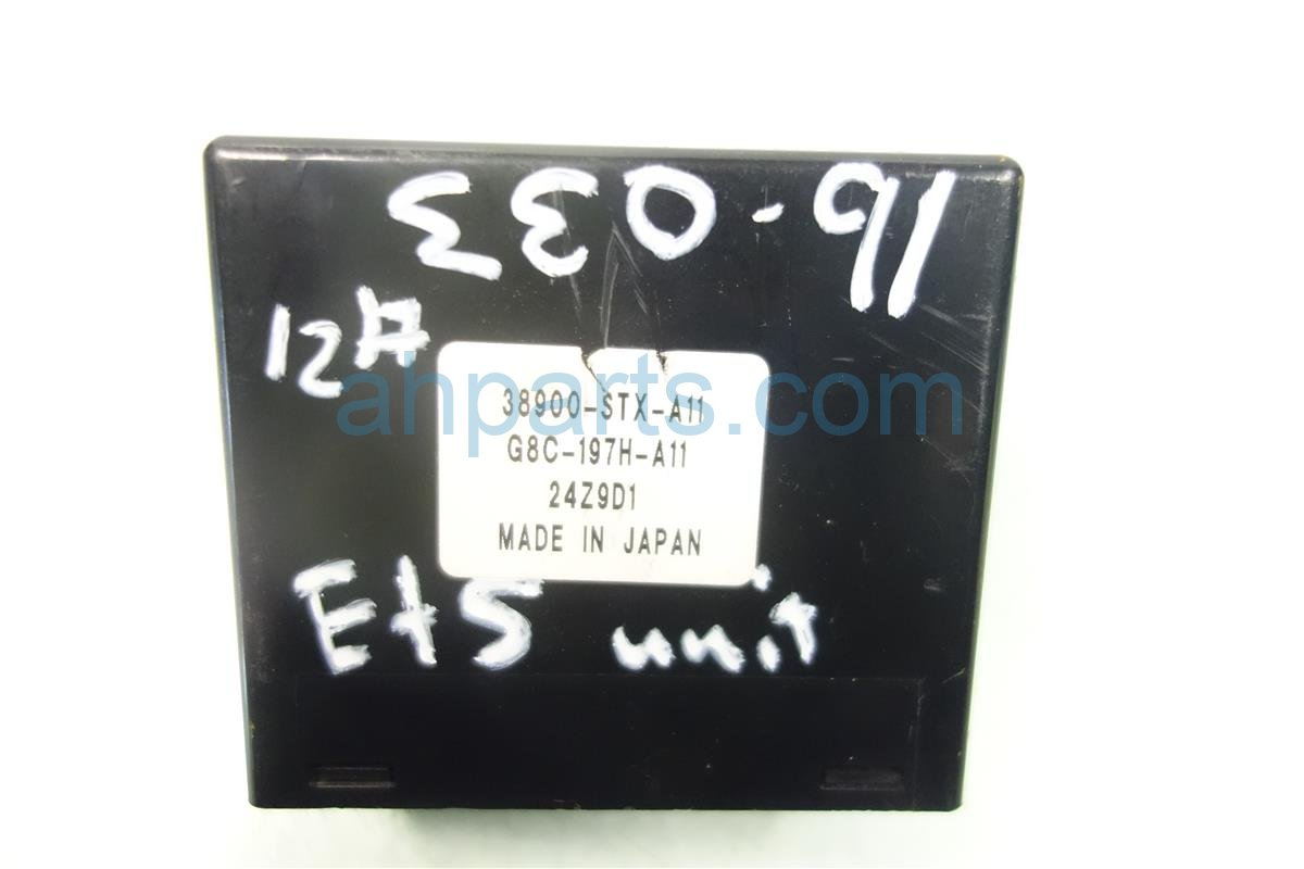 2010 Acura MDX ETS CONTROL UNIT 38900 STX A11 38900STXA11 Replacement