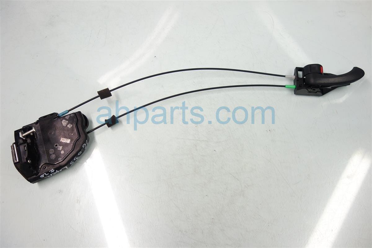 2010 Toyota Rav 4 Rear driver DOOR LOCK ACTUATOR Replacement