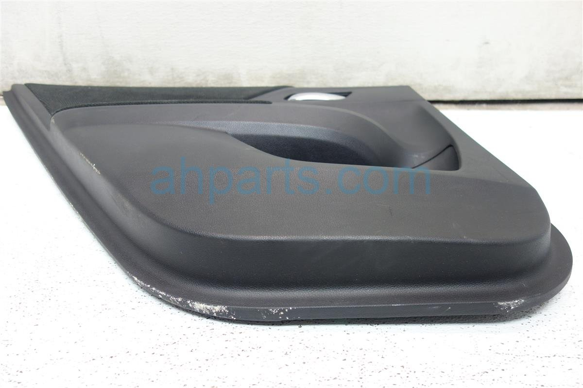2013 Honda Accord Liner Rear driver DOOR PANEL TRIM LX MODEL BLACK 83750 T2A A01ZC 83750T2AA01ZC Replacement
