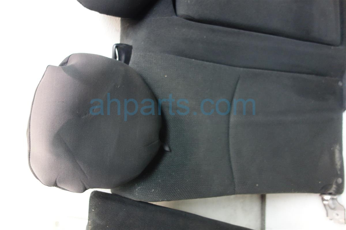 2013 Honda Accord Back 2nd row REAR SEATS ASSEMBLY BLACK CLOTH Replacement